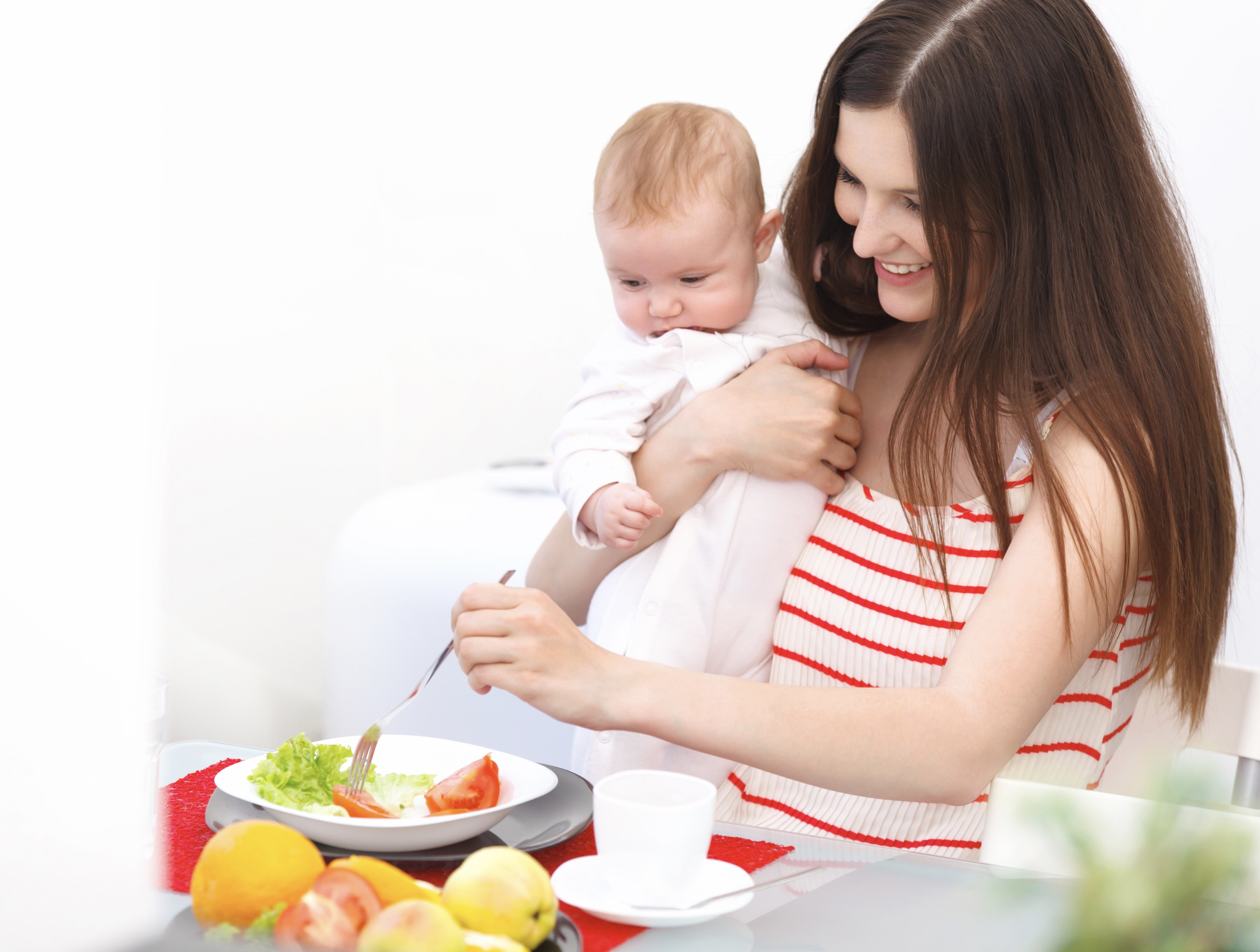 What should I eat during breastfeeding?
